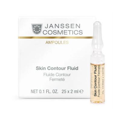 Сыворотка-лифтинг с пептидами Janssen Cosmetics Skin Contour Fluid 7*2мл: фото