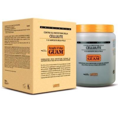 Маска антицеллюлитная для увядающей кожи Guam Fanghi d'Alga 1000 г: фото