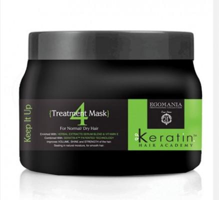 """Маска """"Все под контролем!"""" для нормальных и сухих волос Egomania Keratin Hair Academy Keet It Up 500мл: фото"""