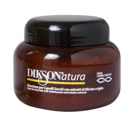 Маска для сухих волос с экстрактом бессмертника и липы Dikson MASK DRY HAIR 250мл: фото
