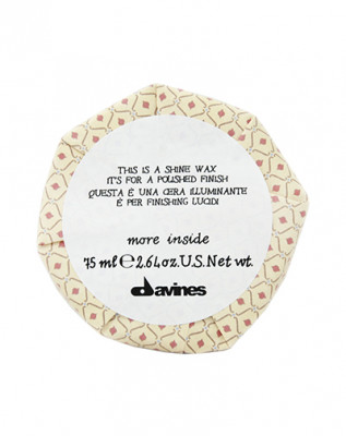 Воск-блеск для глянцевого финиша Davines Shine Wax More Inside 75 мл: фото