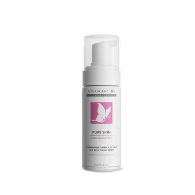 Пенка очищающая для всех типов кожи Collagene 3D PURE SKIN 160 мл: фото