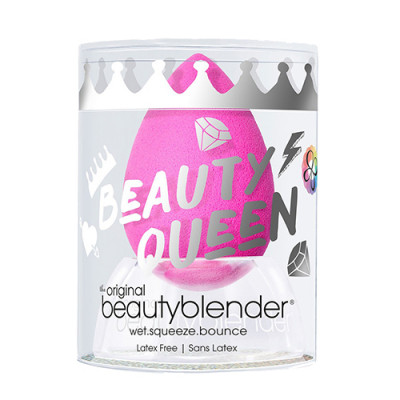 Спонж beautyblender original с подставкой crystal nest розовый: фото