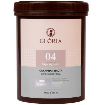 Сахарная паста для депиляции Средняя Gloria Classic 1800 г: фото