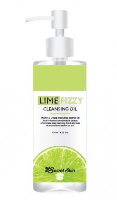 Гидрофильное масло SECRET SKIN LIME FIZZY CLEANSING OIL 150мл: фото