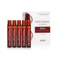 Ампулы для лица с улиточным экстрактом Eyenlip First Magic Ampoule Snail 5*13мл: фото