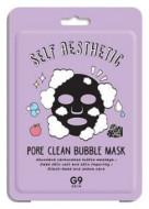 Маска тканевая пузырьковая Berrisom G9 skin Self Aesthetic Poreclean Bubble mask 23мл: фото