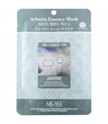 Маска тканевая арбутин Mijin Arbutin Essence Mask 23гр: фото