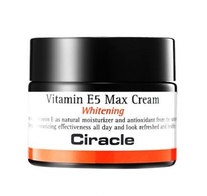 Крем Витамин Е5 для лица осветляющий Ciracle Vitamin E5 Max Cream 50мл: фото