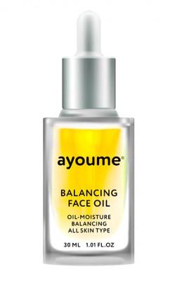 Масло для лица восстанавливающее AYOUME Balancing Face oil with Sunflower 30мл: фото