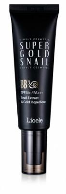 ВВ-крем с экстрактом улитки и золотом Lioele Super Gold Snail BB SPF50 21Natural Beige 50мл: фото