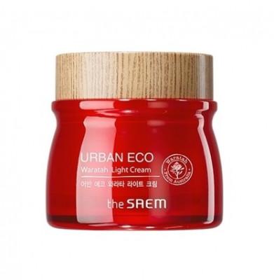 Крем-гель для лица легкий с экстрактом телопеи THE SAEM Urban Eco Waratah Light Cream 60мл: фото
