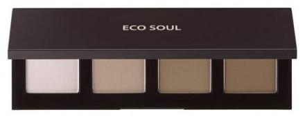 Палетка для контурного макияжа THE SAEM Eco Soul Contour Palette: фото
