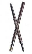 Карандаш-пудра для бровей THE SAEM Eco Soul Pencil & Powder Dual Brow 02 Deep Brown 0,5г*0,3г: фото