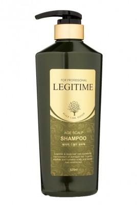 Шампунь для волос укрепляющий Welcos Mugens Legitime Age Scalp Shampoo 520мл: фото