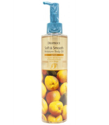 Масло для тела DEOPROCE SOFT & SMOOTH MOISTURE BODY OIL APRICOT 200мл: фото