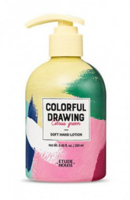 Лосьон для рук ETUDE HOUSE COLORFUL DRAWING SOFT HAND LOTION 250мл: фото