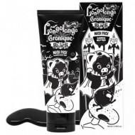 Маска-плёнка для глубокого очищения пор Elizavecca Hell Pore Longolongo Gronique Black Mask Pack 100мл: фото