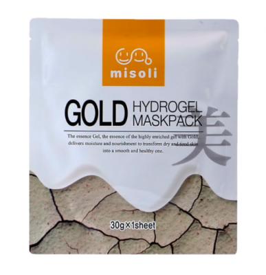 Гидрогелевая маска с коллоидным золотом Misoli: фото