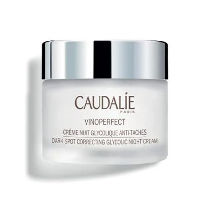 Ночной крем для сияния кожи с гликолевой кислотой Caudalie Vinoperfect 50 мл: фото