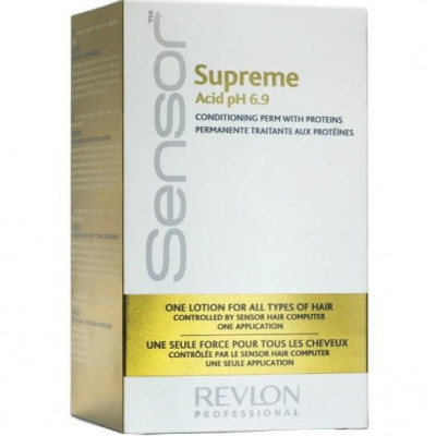 Средство для химической завивки для сухих и ломких волос Revlon Professional SENSOR SUPREME 181мл: фото