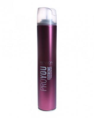 Лак для волос сильной фиксации Revlon Professional PROYOU EXTREME HAIR SPRAY 500мл: фото