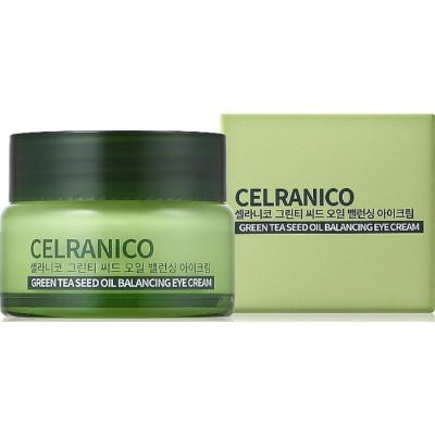 Крем вокруг глаз балансирующий с семенами зеленого чая CELRANICO GREEN TEA SEED OIL BALANCING EYE CREAM 30 мл: фото