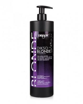 Шампунь для обработанных, обесцвеченных и мелированных волос Dikson 1000 мл: фото