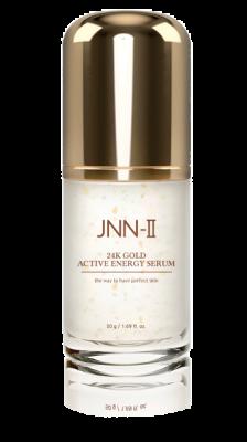 Сыворотка для лица энергетическая с 24К золотом JUNGNANI JNN-II 24K GOLD ACTIVE ENERGY SERUM 50г: фото
