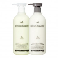 Lador Moisture Balancing Silicon Shampoo + conditioner set: фото