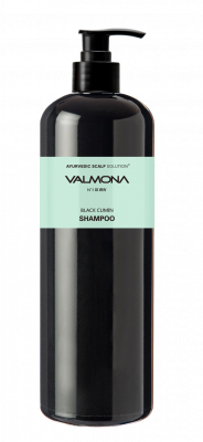 Шампунь для волос АЮРВЕДА EVAS VALMONA Ayurvedic Scalp Solution Black Cumin Shampoo 480мл: фото