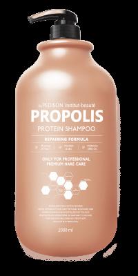 Шампунь для волос ПРОПОЛИС EVAS Pedison Institut-Beaute Propolis Protein Shampoo 2000 мл: фото
