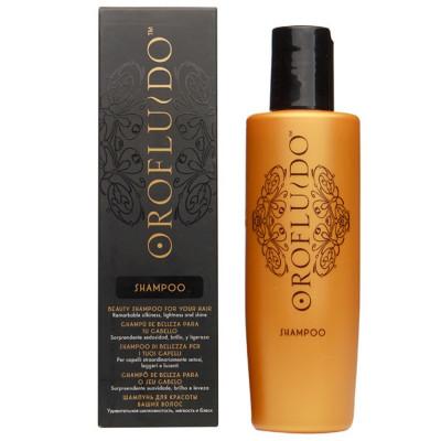 Шампунь для блеска и мягкости волос Orofluido Shampoo 200мл: фото