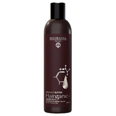 Шампунь с маслом ши для увлажнения пористых, сухих волос Egomania Shea Nut Butter 250мл: фото