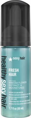 Мусс для укладки без фена SEXY HAIR Fresh Hair 50мл: фото