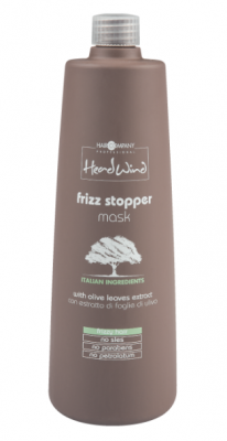 Маска разглаживающая Hair Company HEAD WIND FRIZZ STOPPER MASK 1000мл: фото