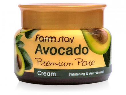Крем осветляющий с экстрактом авокадо FarmStay Avocado Premium Pore Cream: фото