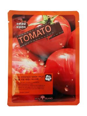 Маска тканевая с томатом May Island Real Essence Tomato Mask Pack 25мл: фото