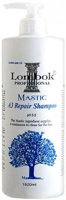 Шампунь укрепляющий Gain Cosmetic Lombok Mastic A3 Shampoo 1500мл: фото