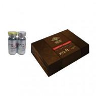 Ампулы Rx100 концентрат кератина + гидроколлаген Greymy professional Shine 20мл*3+20мл*3: фото
