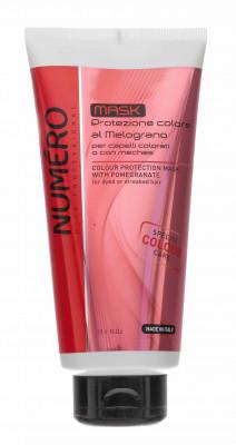 Маска для защиты цвета с экстрактом граната для окрашенных и мелированных волос Brelil Numero Colour protection Mask 300 мл: фото