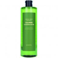 Мицеллярная вода успокаивающая с экстрактами зеленых плодов Eunyul Green Seed Therapy Calming Cleansing Water 500мл: фото