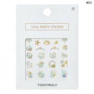 Стикеры для дизайна ногтей TONY MOLY NAIL PARTS STICKER 03: фото