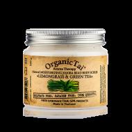 Скраб для тела с гранулами жожоба и маслами лемонграсса и зеленого чая Organic Tai Aroma Therapy Natural Moisturizing Jojoba Bead Body Scrub Lemongrass & Green Tea 200 г: фото