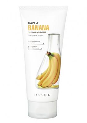Пенка очищающая с бананом It'S SKIN Have a Banana Cleansing Foam 150 мл: фото