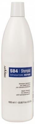 Шампунь восстанавливающий для окрашенных волос Dikson SHAMPOO REPAIR S84 1000мл: фото