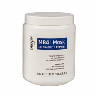 Маска восстанавливающая для окрашенных волос Dikson M84 MASK RIPARATORE 1000мл: фото