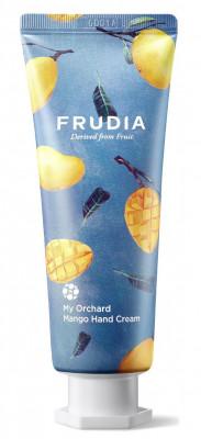 Крем для рук увлажняющий c манго Frudia My Orchard Mango Hand Cream 80 г: фото