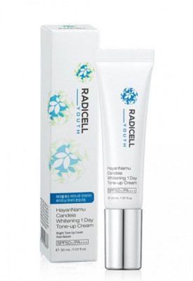 Крем солнцезащитный 3в1 RADICELL Youth HayanNamu Candeia Whitening 1Day Tone-Up Cream 30 мл: фото