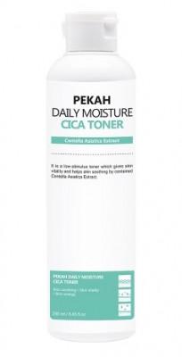Тонер для лица с экстрактом азиатской центеллы PEKAH Daily Moisture Cica Toner 250 мл: фото
